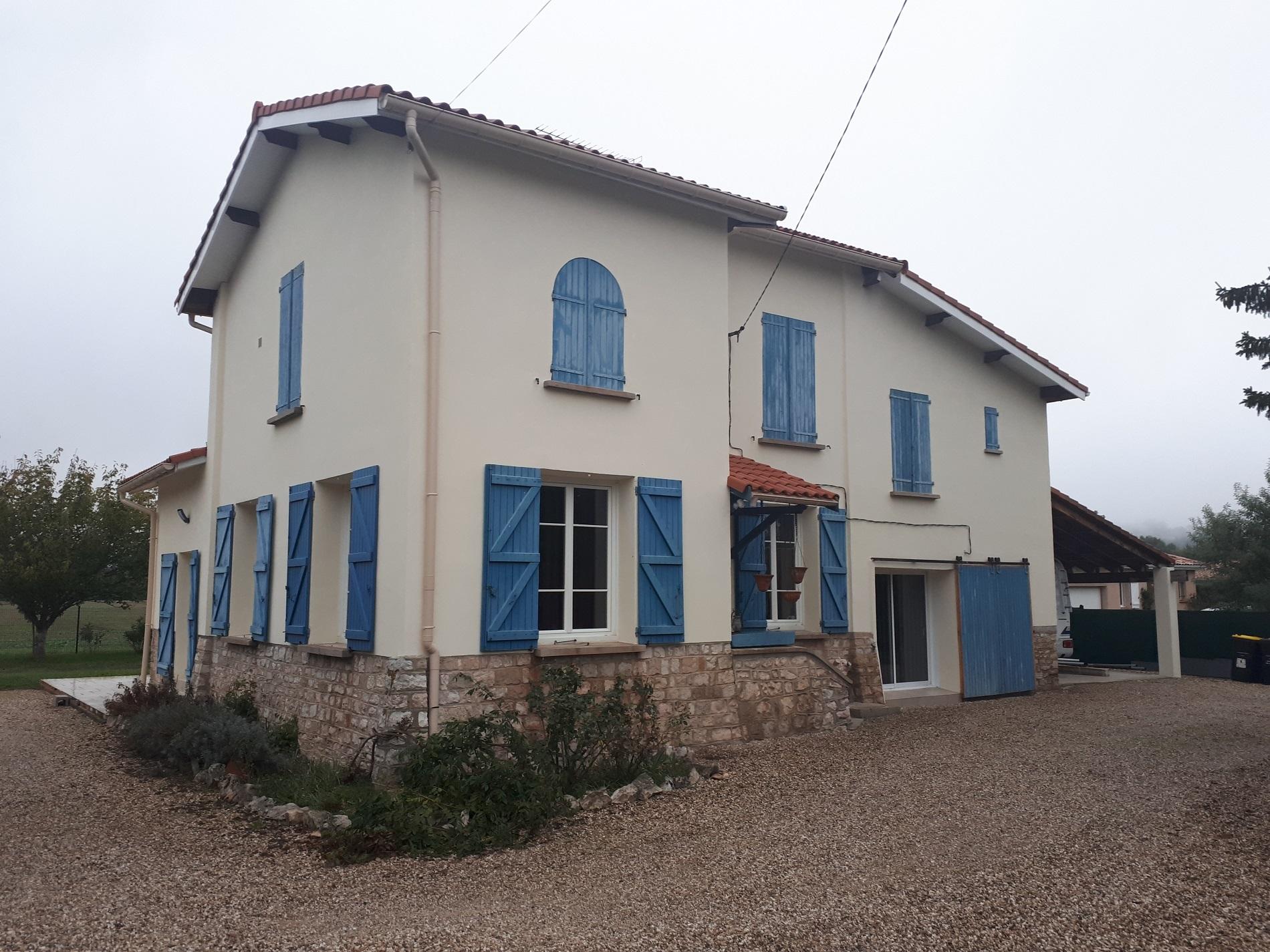Ravalement de façades à Villemur-sur-Tarn
