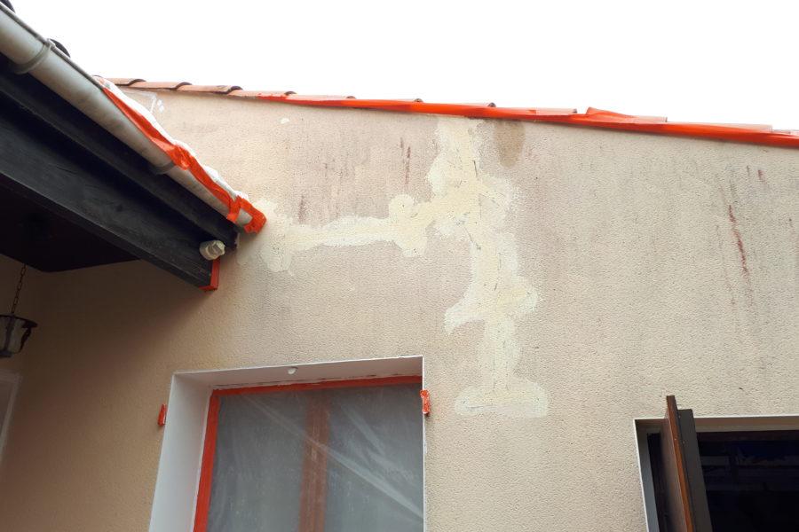 Ravalement de façades à Saint-Jean