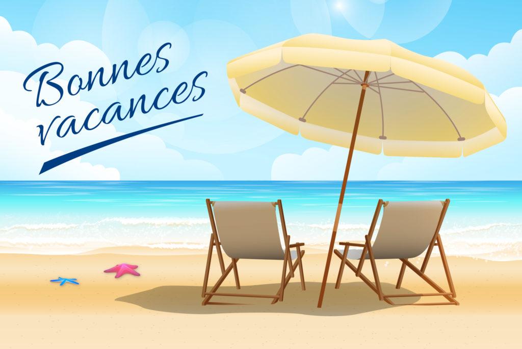 congés annuels d'été