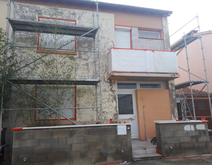 ravalement de façades colomiers