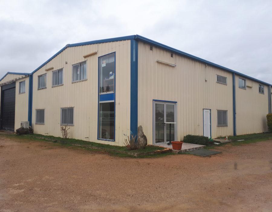 rénovation bâtiment industriel à baziège