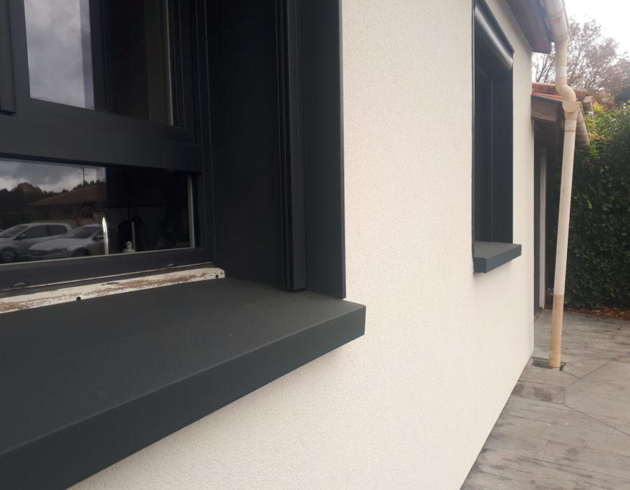 appui de fenêtre isolé préfabriqué