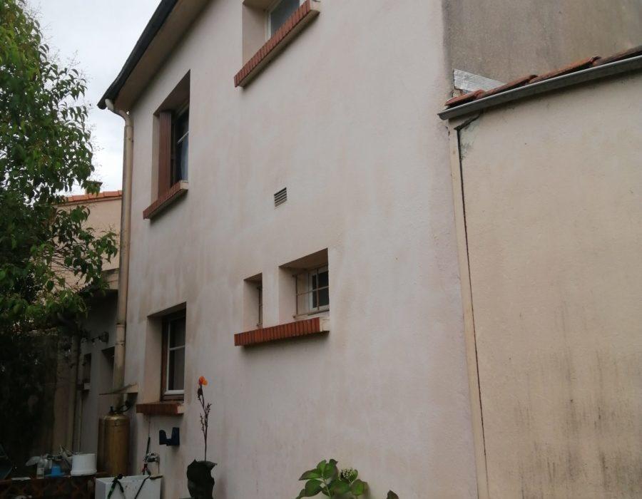 avant isolation des murs