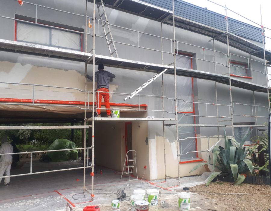 rénovation de façades à Montauban